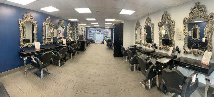 Inside Dudleys Hair Beauty Salon in Bulwell Nottingha