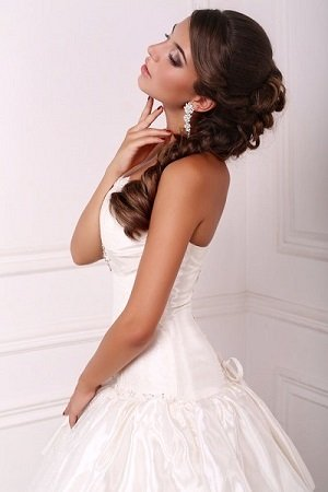 The best bridal hairdressers in Nottingham at Dudley's Salon, Bulwell