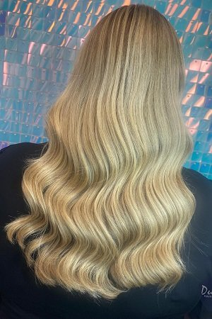 platinum blonde hair colours at dudleys hairdressers in bulwell nottingham