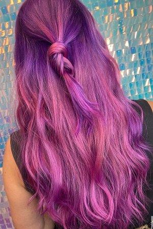 Vivid hair colours at Dudleys Hair Beauty Salon in Bulwell Nottingham